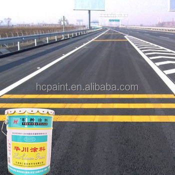 Acrylic road marking paint