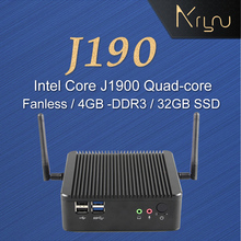 hot selling Mini industrial pc J1900 desktop computer with 4gb ram