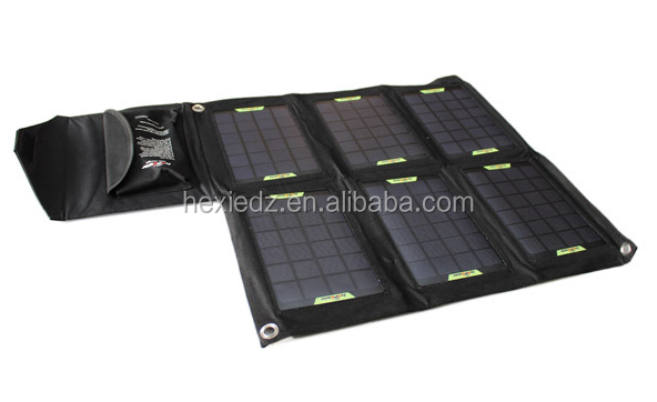 Portable solar charger 21watts Folding solar panel charger