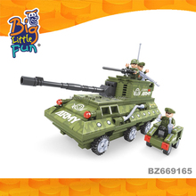Wholesale education game military fighter tanks play set building blocks toys for sale