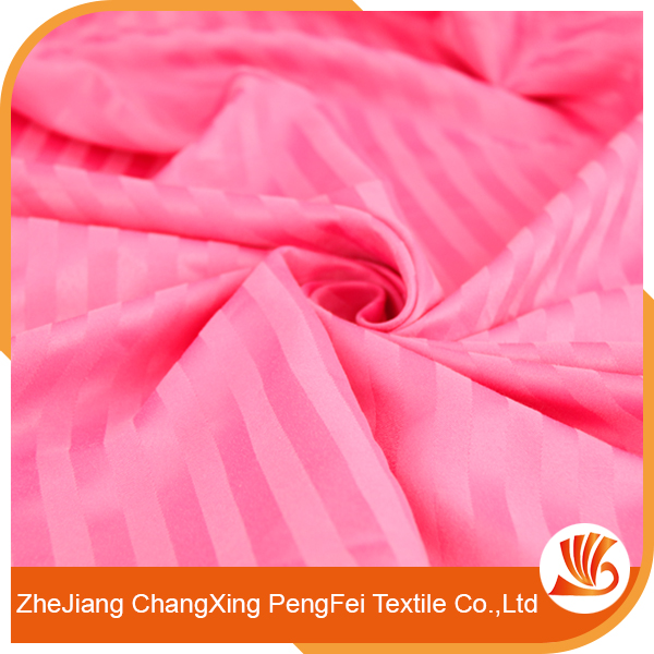 Elastic jacquard bed sheet fabric with high quality