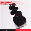 100% Natural Unprocessed Brazilian Virgin Human Lace Frontal Closure