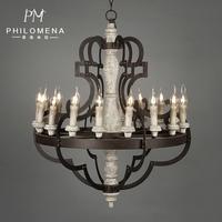 2017 American Rustic Antique Chandeliers Lamps Industrial Lighting Wooden Metal Material Pendant Lights