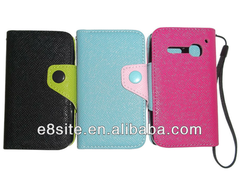 For Alcatel Spop OT4030 PU Wallet Leather Case Covers