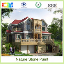 colorful granite paint like stone for exterior wall paint