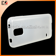 mobile phone case for Samsung Galaxy S5,for S5 transparent TPU with factory price