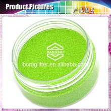 Bangsai Various size glitter pink acrylic powder with colorful patterns
