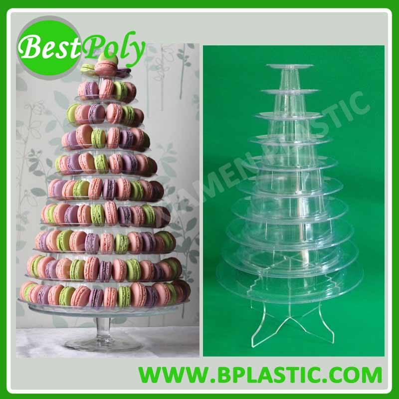2017 NEW STYLE Macaron Display <strong>Stand</strong> For Christmas and Wedding