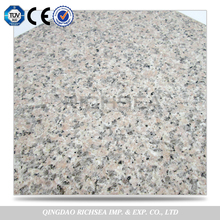 Chinese New Arrive Grade A 126 Mpa Compressive Strength Pink Colors Granite