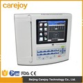 12 lead 12 Channel 8 inch Digital Electrocardiograph ECG Machine EKG 1200G 300 Cases with ECG Software