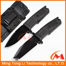 Outdoor Fixed blade saber knife with Kydex sheath Pakistan hunting survival multi tool