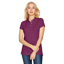 Custom design cheap wholesale colorful slim fit china factory ladies polo shirt