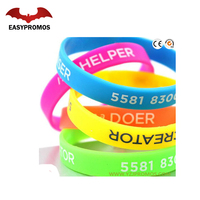Professional Manufacturer Sport Wrist Band/ Silicone Bracelets/Colorful Silicon Bracelet