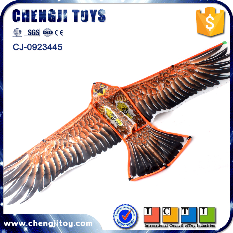 kids kite outdoor playing lifelike eagle flyer super bird shape kites