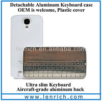 LBK308 2013New Sliding Wireless Bluetooth Keyboard Case for Samsung Galaxy S4 Mini Bluetooth Keyboard Case Samsung Galaxy I9500