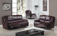 Lazy boy leather recliner sofa home furniture