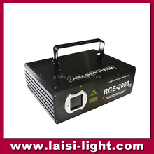 High Quality 2W Full Color RGB Animation Laser Spot Light ,Guangzhou Factory Direct Sale Amination Decoration Disco Light