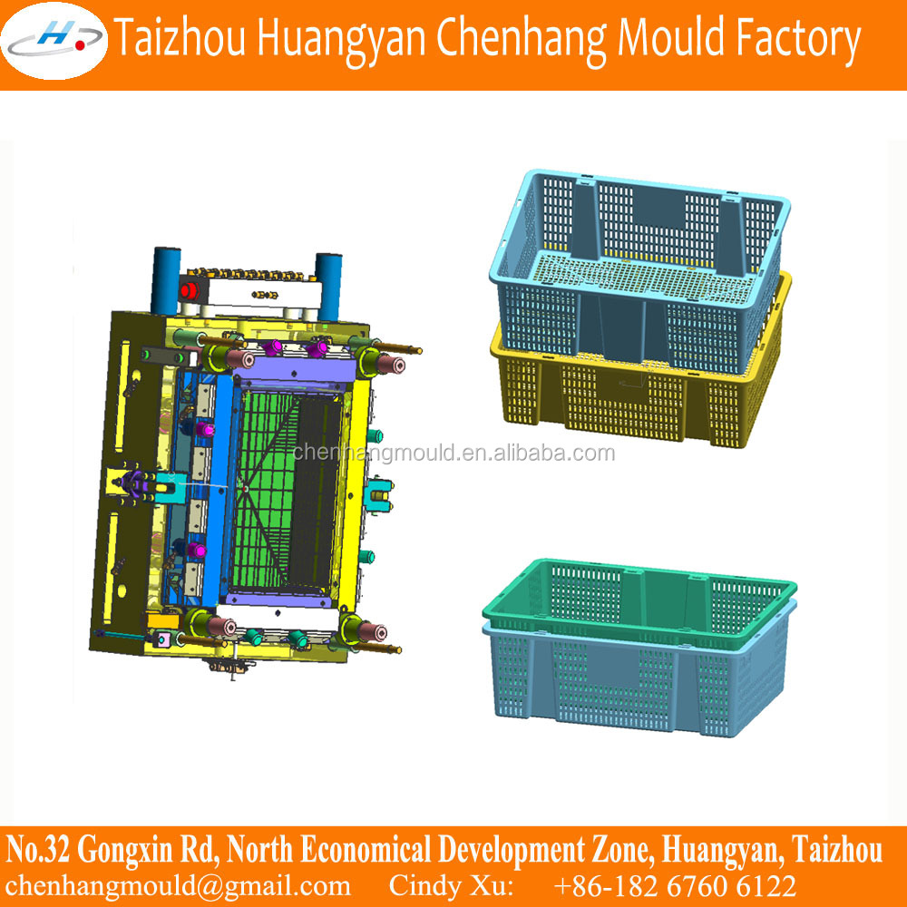 Taizhou Professional Injection Plastic Box <strong>Mould</strong>,Plastic Milk Pouch Crate <strong>Mould</strong>