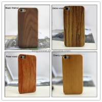 newest PC wood case mobile phone case for iphone 5