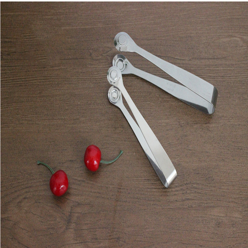Cheap Metal Stainless Steel Salad Tongs/ Food Tong/ Ice Tong