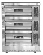 OVEN - ELECTRIC BAKING OVEN 3-DECK 6-TRAY