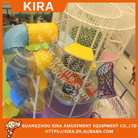 High Quality Indoor Entertainment Amusement Park Games with Ropes Course Development