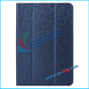 BRG-513 24h Beautiful luxury leather case for ipad mini,for ipad mini flip case