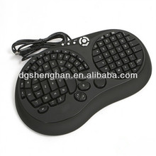 Injection Moulding Fashion Office Plastic Computer Keyboard Shell