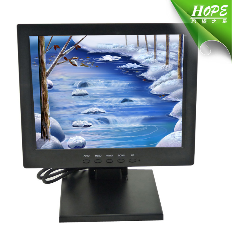 10 inch touch screen panel 4 wire resistive touch screen monitor
