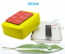 HOT!Waterproof housing case Backdoor and Floaty sponge for GoPro Hero 3+ with 3M sticker for GP104