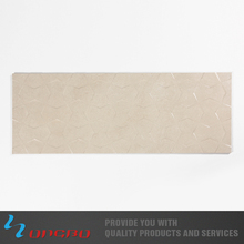 New Luxury Flooring irregular shape ivory colour Artificial Ceramic Tile Made In China
