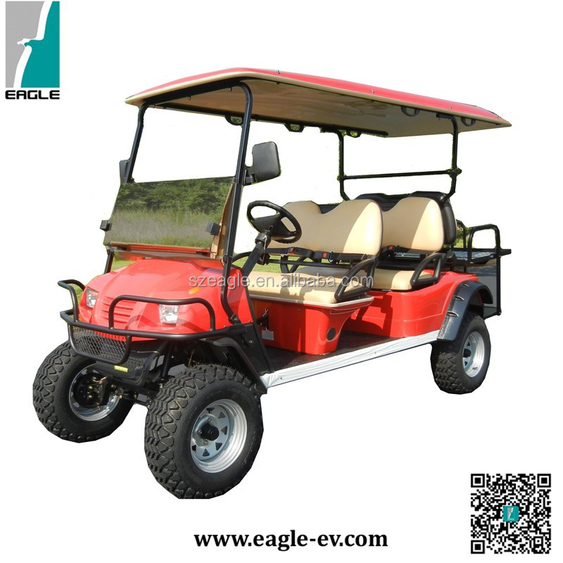 Hunting golf carts, Electric lifted cart, 6 seats, EG2040ASZ, CE approved,LSV,DOT