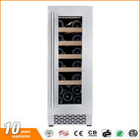 No freon small under counter wine cooler with CE