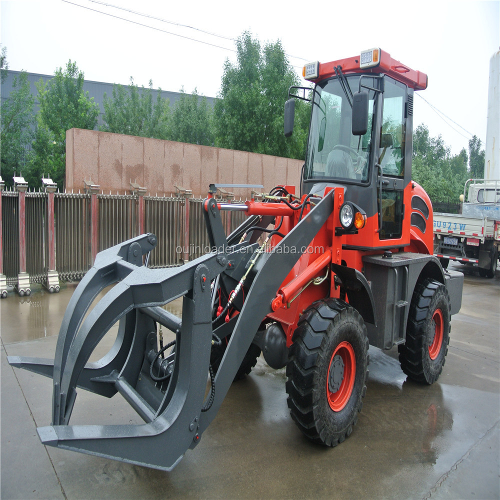 Hot sale earth moving machinery zl16 new farm machine loader