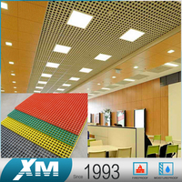 Top Selling Products Sound Absorbing Grate Aluminum Ceiling Tile