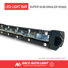 Car accessories off road Led light bar 44inch single row crees led light bar for jeep,truck,auto parts
