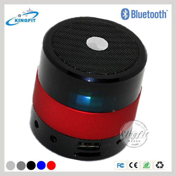 Super Bass Portable Rechargeable Bluetooth Stereo Speaker with LED Light
