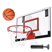 Top selling products in alibaba trampoline with basketball hoop