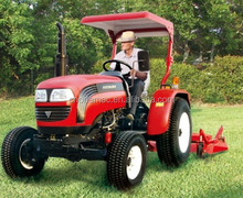 Cheap 40hp 4wd Farm Tractor LT404 with front end loader and backhoe for sale