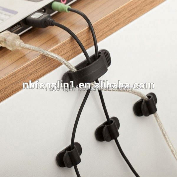 Boomray Wholesale good quality 3 differ sizes 10 pcs cable clips shenzhen computer accessories