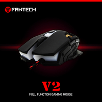 High Precision Gaming Mouse with 2400 DPI, 6 Button, 45g Extra weight Fantech V2 Mouse gaming