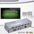 Factory price VOXLINK NEW metal case 1X4 HDMI 2.0 splitter 4K with EDID HDMI 2.0 converter