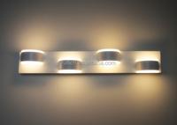 52cm Bathroom Mirror Light 90~260v 12W 4 Heads Aluminum Acryl Led Wall Light Led Stair Lights Modern Wall Lamp