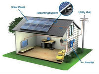 2000w Home Solar Power Off grid System/stand Alone Solar Power System