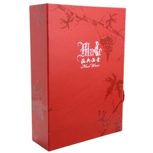 high quality gift packaging 3 litre wine box