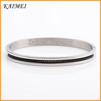 Wholesale Cheap Price Factory Simple Design Mens Customized Stainless Steel Chain Jamaican Bangle
