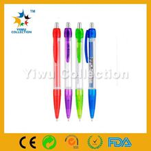 advertising plastic pen,promotional special banner ballpen,polyclay pen