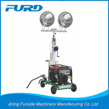 Factory Price Heavy Duty Industrial Portable Lighting Tower/Telescopic Light Tower
