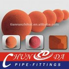 Schwing Sponge rubber ball/Cylinder for pipe cleaning
