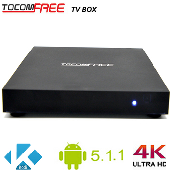 4K HD tocomfree tv box with android and built WIFI Network: IEEE 802.11 a/b/g/n 2.4GHz work for worldwide
